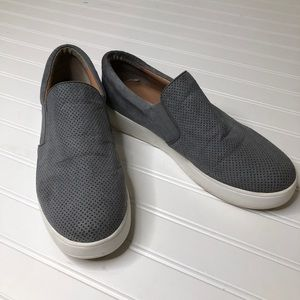 Steve Madden gray slip on sneakers 11